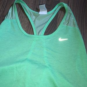 NIKE Dry Fit Racer Back Tank Top